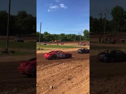Legendary Hilltop Speedway Wreck