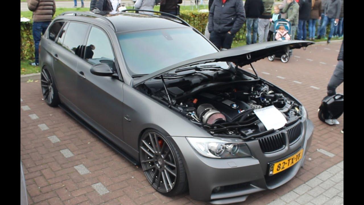 HP BMW I Touring Big Single Turbo Insane Sound - Bmw 335i turbos