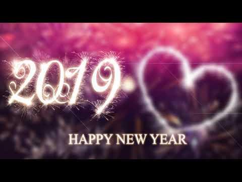 Happy New Year 2019 - Photoshop Tutorial -Latest Wallpaper Design