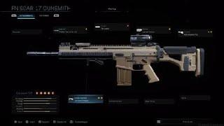 Modern Warfare® 2019 ALL FN SCAR 17 Customization and Attachments   Gunsmith MAX level