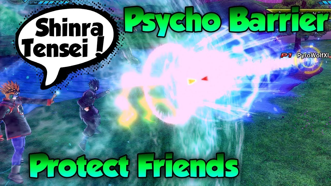 Psycho Barrier save friends from Ultimates?! - Dragon Ball Xenoverse 2