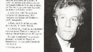 Eric Heidsieck plays Fauré - Ballade op.19 - dir. Roberto Benzi - Les grands solistes français