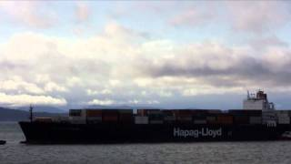Hapag-Lloyd New York Express Arrives at the Port of Seattle