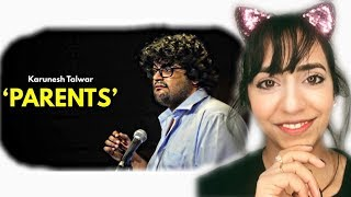 Pakistani Reacts to |  Parents | Stand-up Comedy by Karunesh Talwar