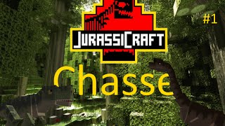 JURASSIC CRAFT - [Chasse- Ep01] - Le Smilodon -