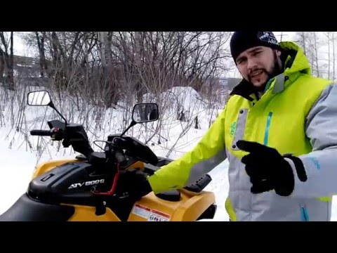 Обзор / Review STELS ATV 800G GUEPARD Touring