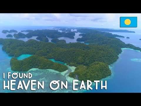 I FOUND HEAVEN ON EARTH in PALAU