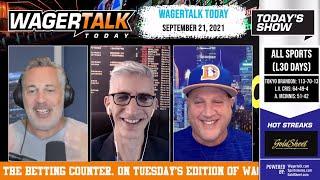 Free Sports Picks   NFL Week 3 Prop Bets   Vegas Betting Update   WagerTalk Today   September 21