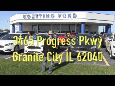 Koetting Ford Granite City IL - promoter Darryn Yates