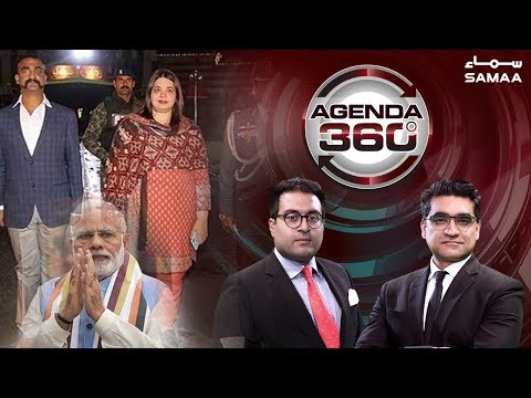 Kia Bharti Jangi Junoon Khatam Hoga? | Agenda 360 | SAMAA TV | 01 Mar 2019