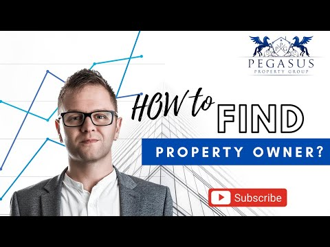 HOW TO FIND A PROPERTY OWNER ?