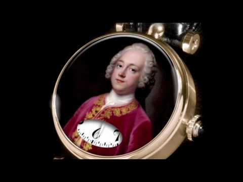 Miniature Painting Watch, Verre Èglomisé, Portraits - Angular Momentum