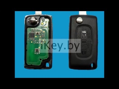 full download how to replace your car key remote fob battery on citroen c4 c6 berlingo or c4. Black Bedroom Furniture Sets. Home Design Ideas