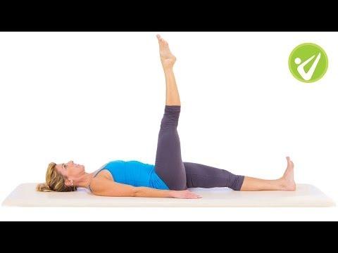 One Leg Circle Pilates Exercise Amy Havens