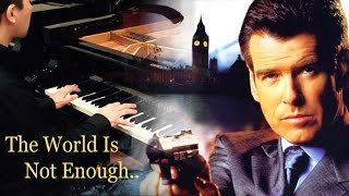 Garbage l The World Is Not Enough l  James Bond l Piano Cover