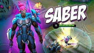 Mobile Legends.Сабер броня картон зато мечи острей иглы!!!