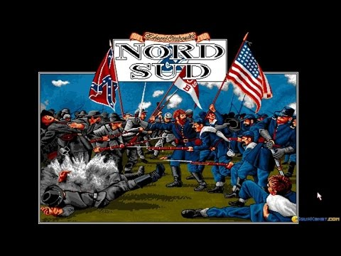 Nord and Sud gameplay (PC Game, 1993) thumbnail
