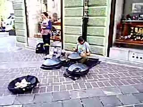 Hang Drum - The Art Of Fusion (Street Performer in Slovenia)