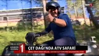 Ordu atv safari 16 Ekim 2017 TRT1 Ana Haber Video