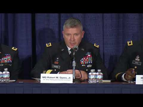 Contemporary Military Forum #4: Army Materiel Readiness for the Future Force