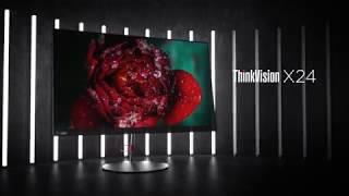 Prezentacja monitora ThinkVision X24