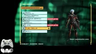 MGRR NG+ Hard Tutorial Part 1: Pre-game