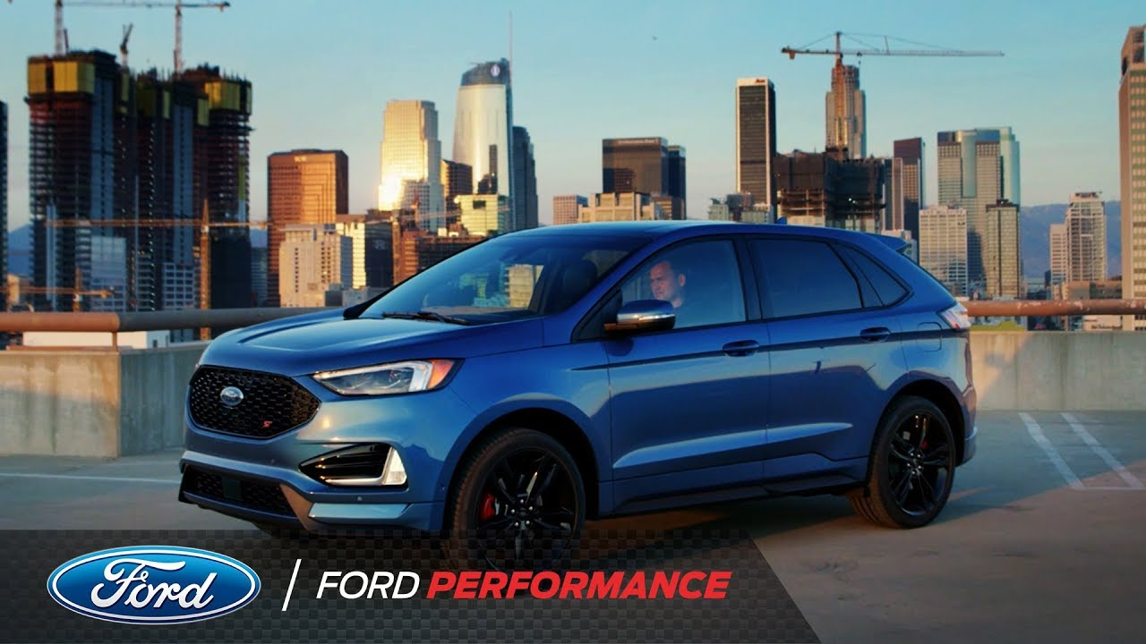 the 2019 ford edge st ford performance youtube. Black Bedroom Furniture Sets. Home Design Ideas