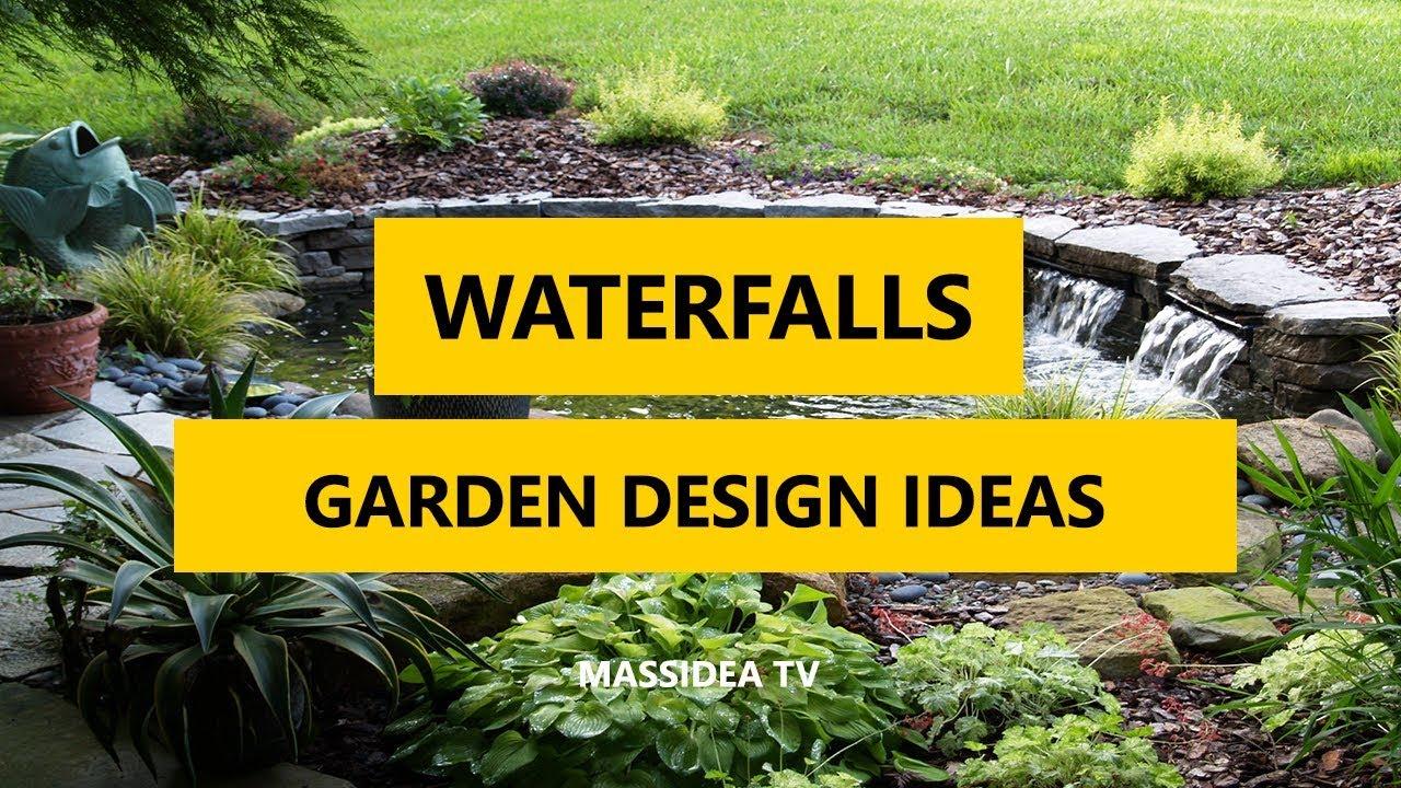 11+ Best Waterfalls in Garden Design Ideas 11