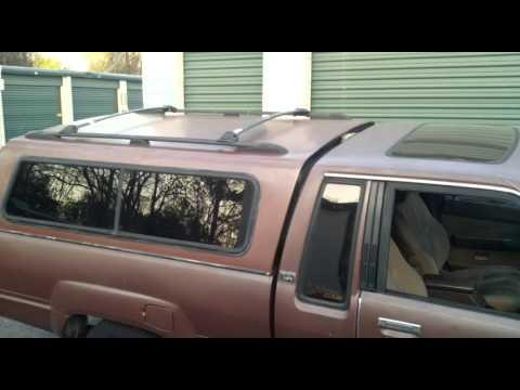 Camper Topper S Roof Rack Install Part 1 Test Ing