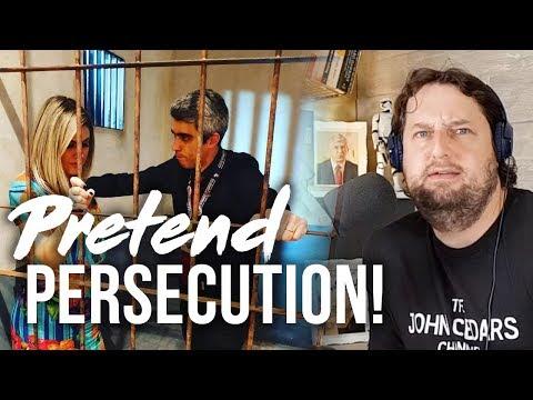 Pretend Persecution! (Bizarre Instagram Photos Of JWs At Brazil Bethel Exhibit)