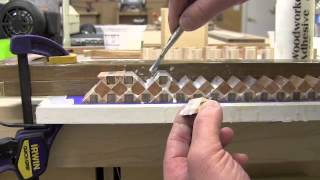 Cosmati Wood Inlay Banding - Part 2