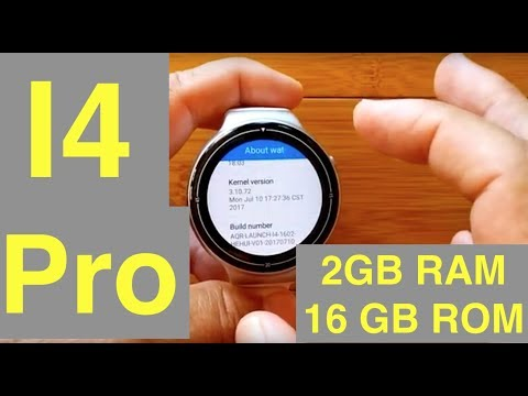 IQI I4 Pro Android 5.1 2GBRAM/16GBROM Smartwatch: Unbox, Review & Firmware!