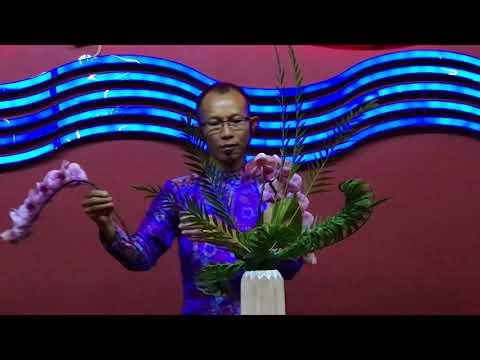 Floral Art show démonstration Hanoi Vietnam