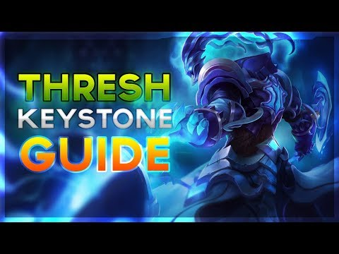 New Thresh Support Runes and Keystone Guide For Season 8