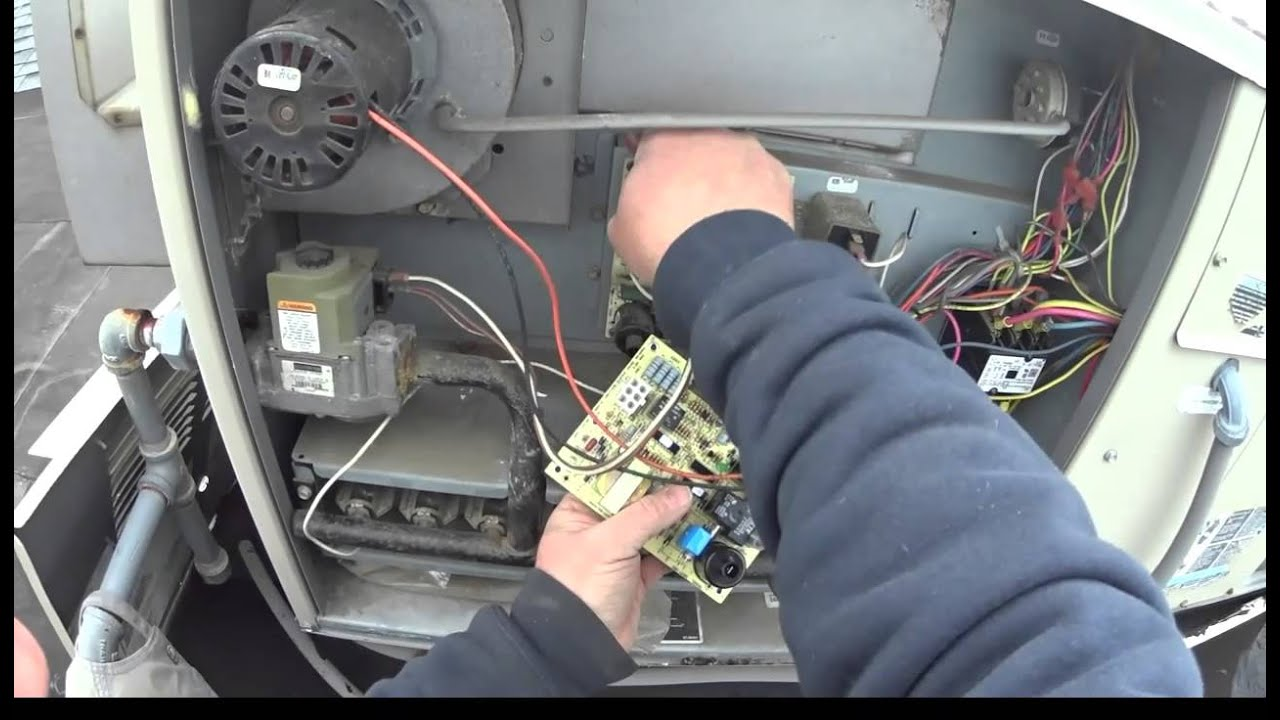 maxresdefault lennox rtu flame won't stay lit hvac youtube lennox gcs16 wiring diagram at bayanpartner.co