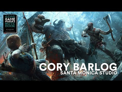 God of War's Cory Barlog - The AIAS Game Maker's Notebook