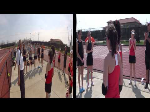 Women's Tennis vs Heidelberg 04-18-2013