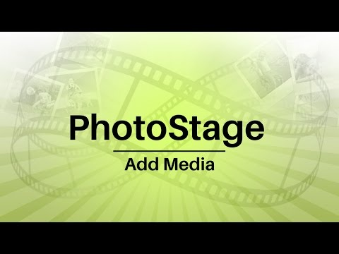 PhotoStage Slideshow Software Tutorial - Add Media