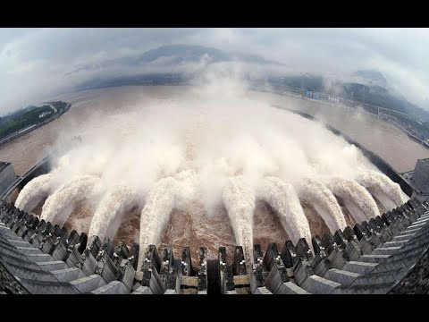 TOP 10 DAM (डैम ) Bhakra- Nangal EMERGENCY WATER DISHCHARGE PART-2  FULL HD