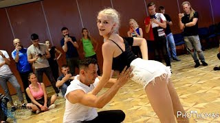 �������� ���� Azael & Sindi [Bad Guy] @ 4th Vilnius Bachata Fest 2019 ������