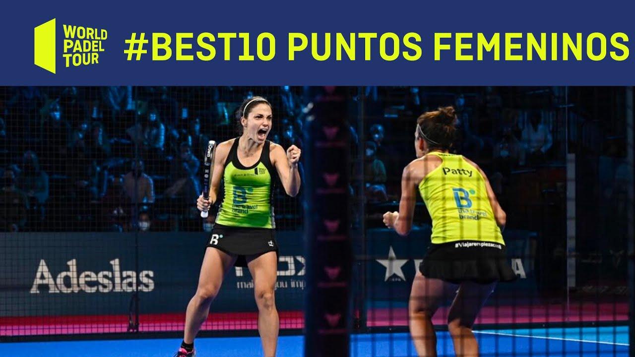 #Best10 Los mejores Puntazos Femeninos de 2020 | World Padel Tour