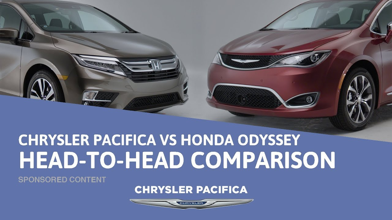 Chrysler Pacifica vs Honda Odyssey - Head To Head Comparison - Sponsored Content - Dauer: 2 Minuten, 41 Sekunden