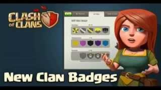 New Clan Badges Clash of Clans Sneak Peek #2 Clan Castle Update - February 2015 Update