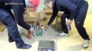 Монтажная пена. Тестирование монтажной пены по объему выхода в литрах(, 2014-05-05T09:09:02.000Z)
