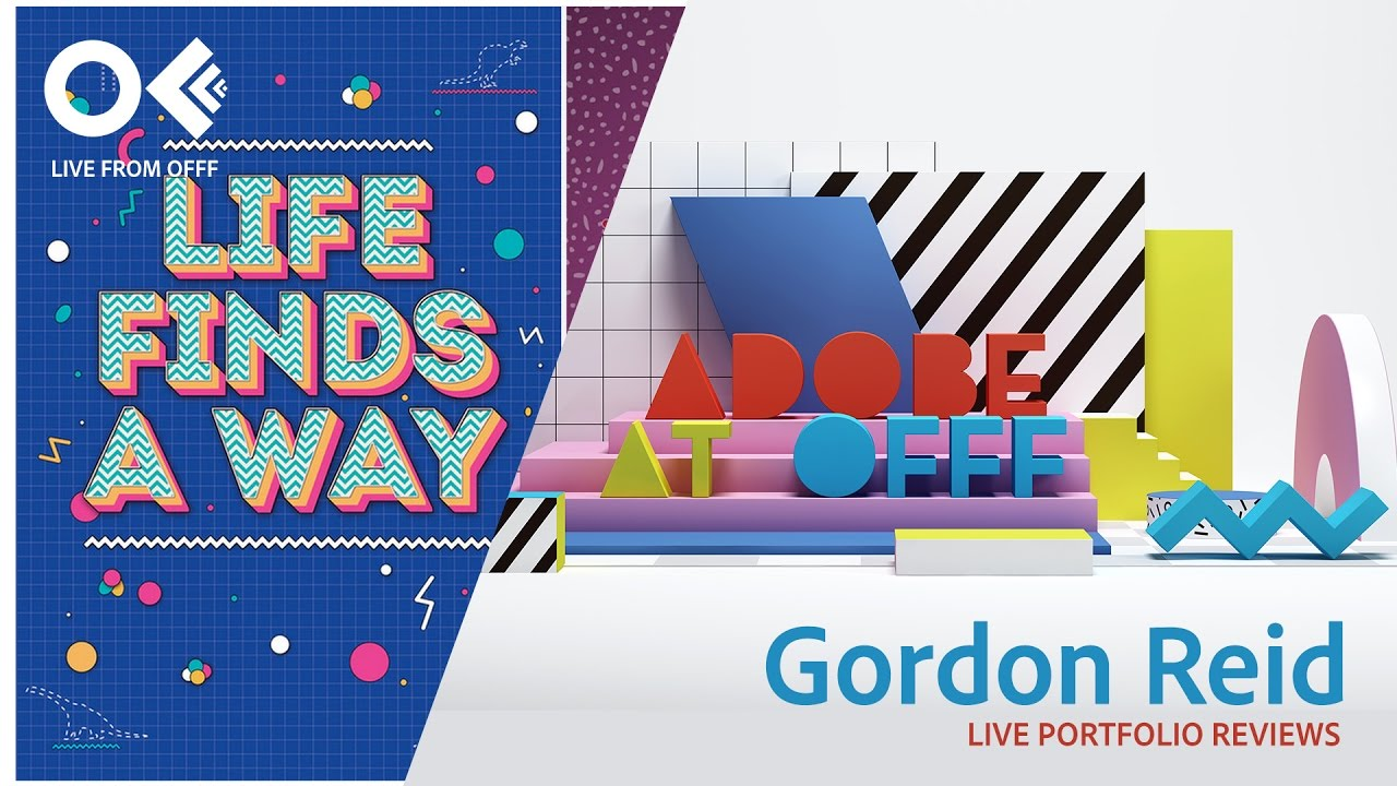 graphic designer gordon reid | offf 2017 | adobe creative cloud