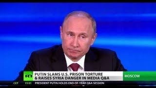 Pressing President: Putin grilled by journalists in Q&A marathon