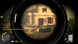Sniper Elite 3 PC Gameplay Max Settings MSI GTX 680 Lightning + i5 3570K