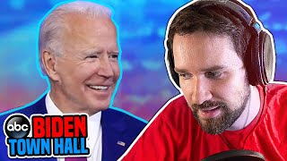 Reacting to the Biden Town Hall