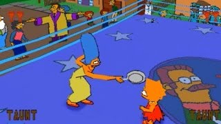 Awful TV Show-Based Games: The Simpsons Wrestling Review (PS1)