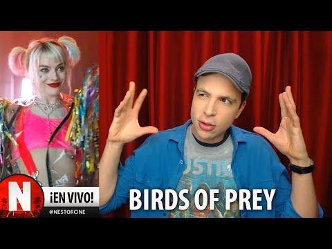 BIRDS OF PREY Primer Vistazo a los Personajes en Teaser
